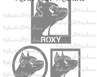 American Pit Bull Terrier svg #14, Download drawings