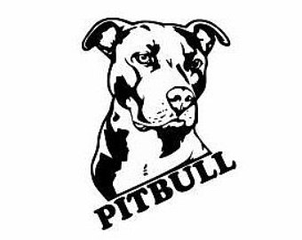 American Pit Bull Terrier svg #9, Download drawings