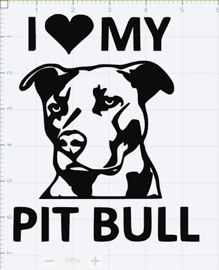 American Pit Bull Terrier svg #10, Download drawings
