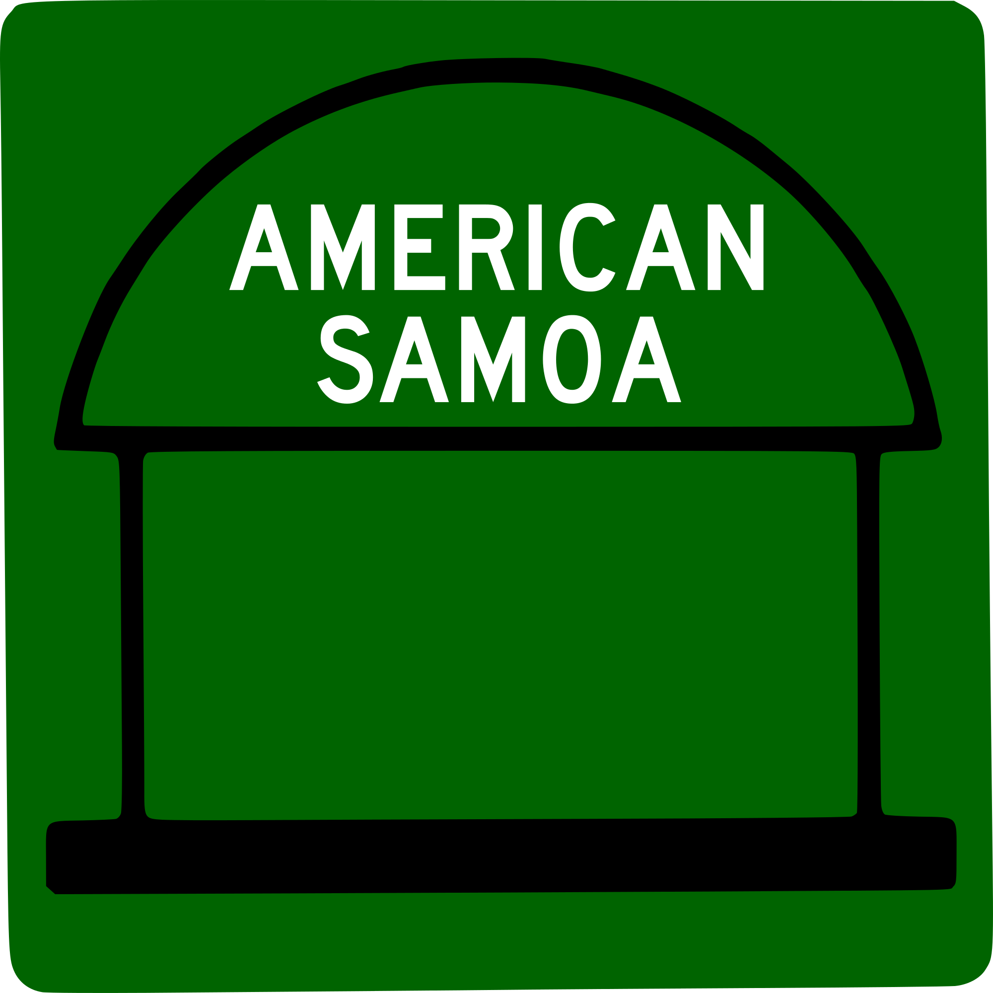 American Samoa svg #8, Download drawings