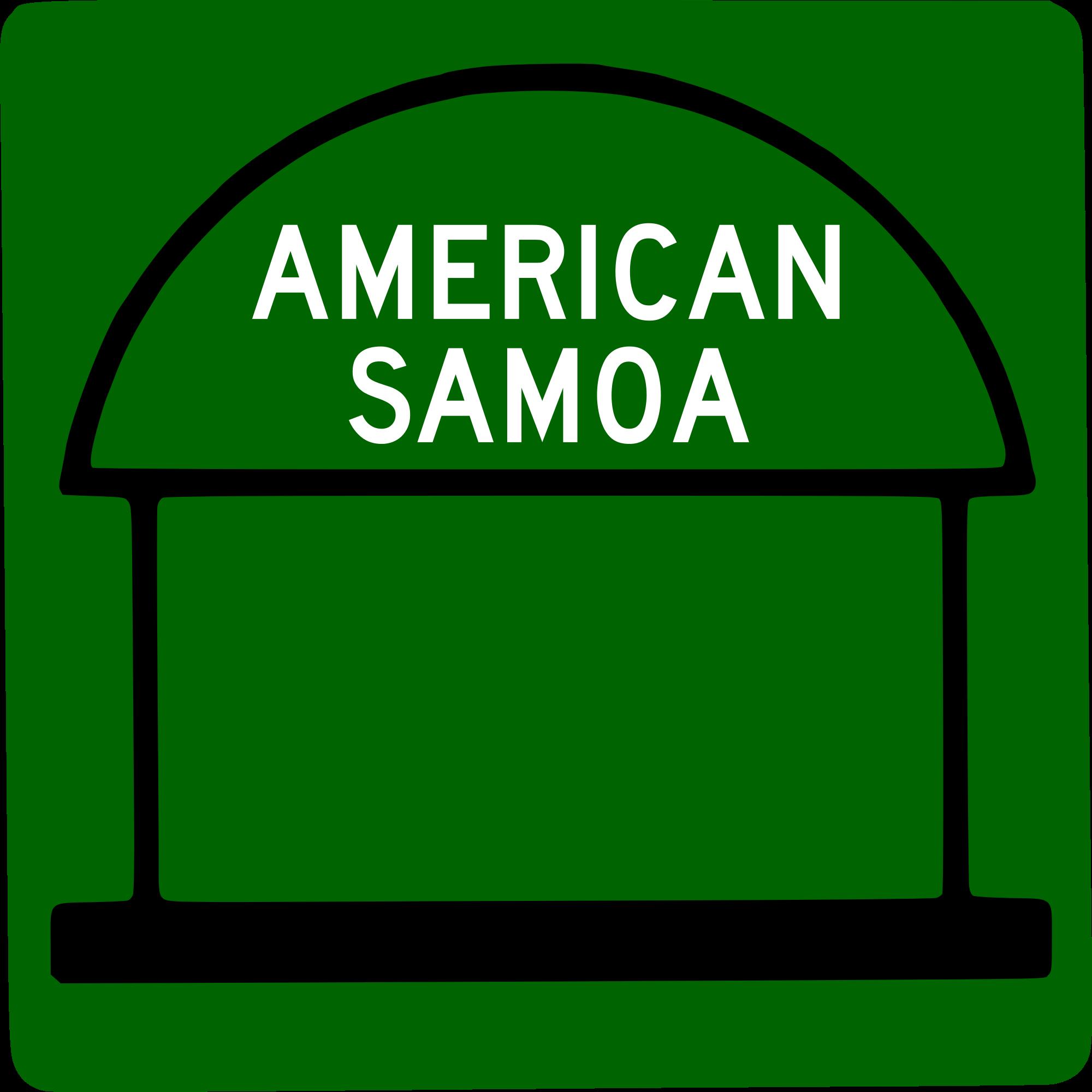 American Samoa svg #8, Download drawings