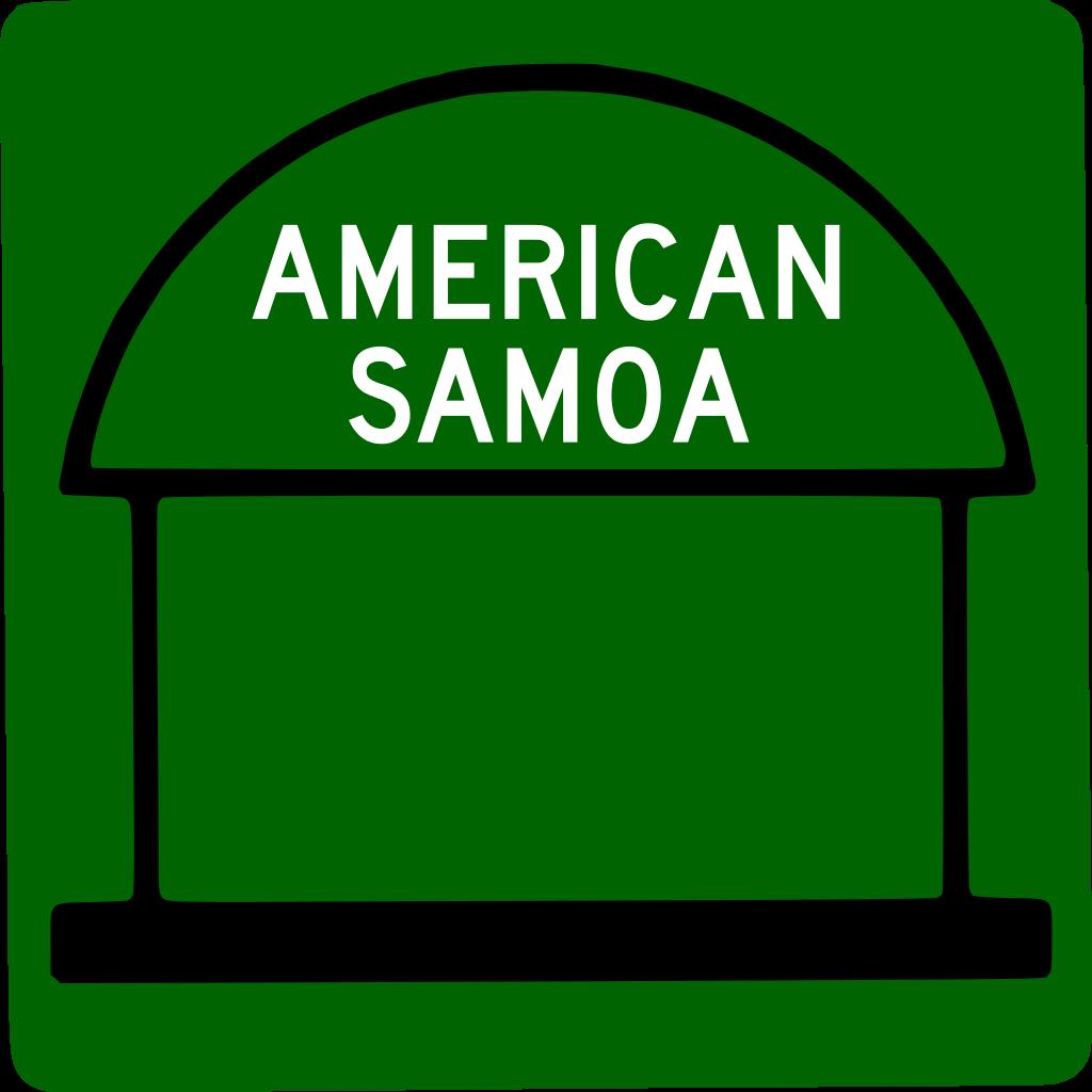 American Samoa svg #13, Download drawings