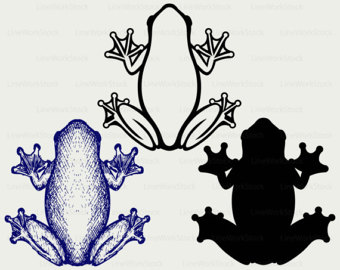 Frog svg #2, Download drawings