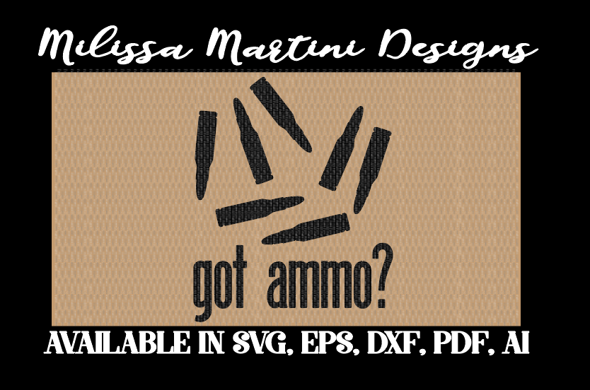 Ammo svg #9, Download drawings