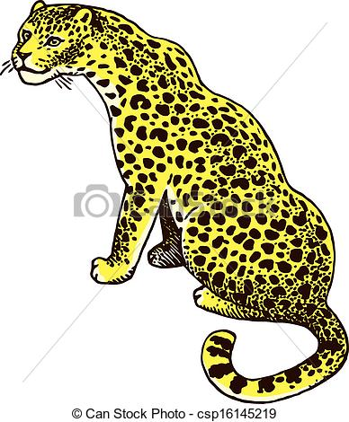 Amur Leopard clipart #2, Download drawings