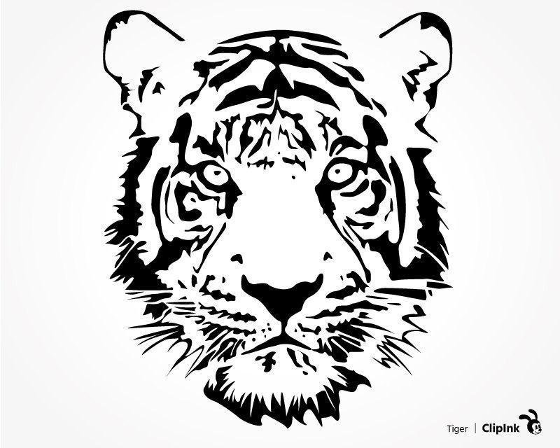 White Tiger svg #11, Download drawings