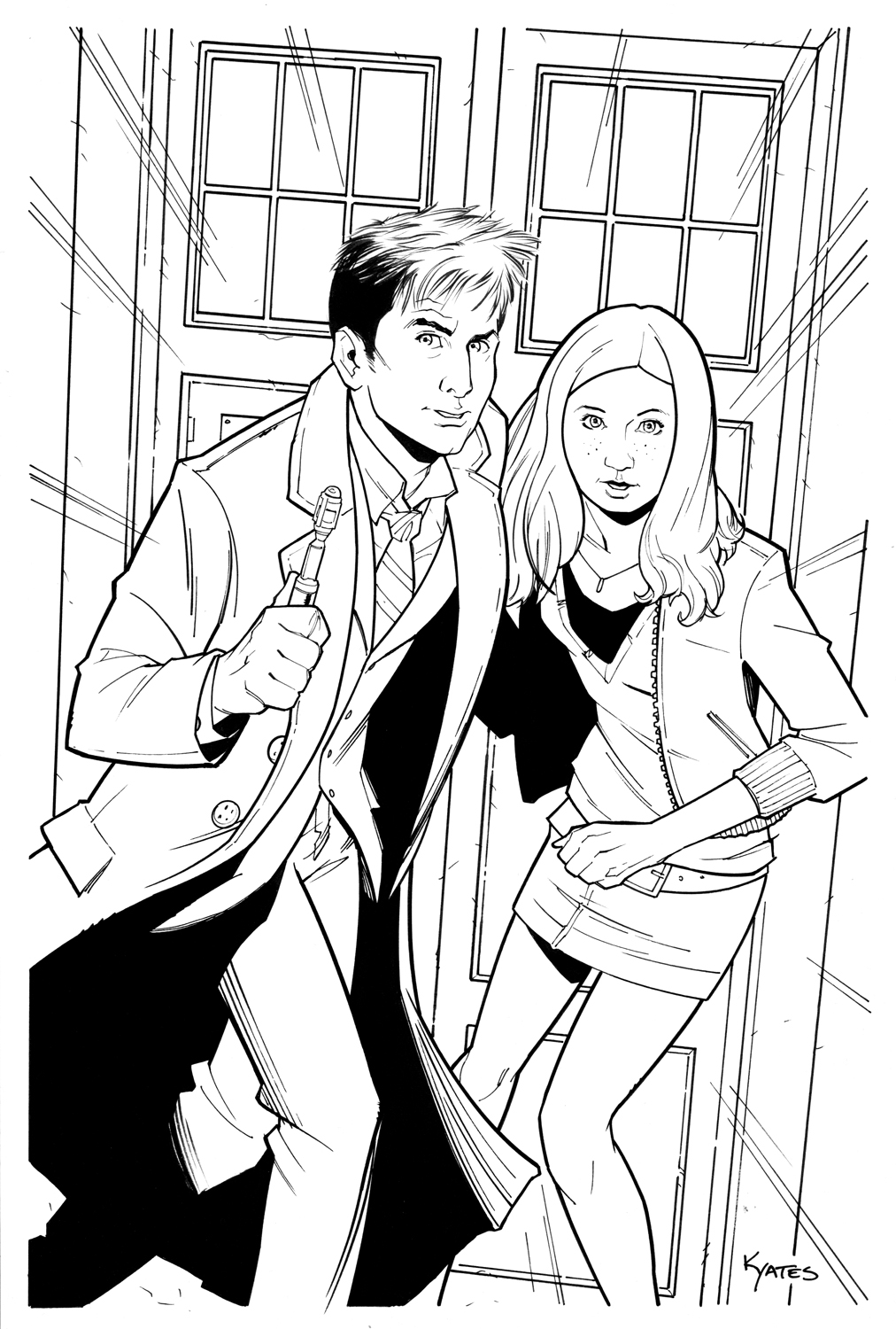 Amy Pond coloring #19, Download drawings