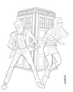 Amy Pond coloring #10, Download drawings