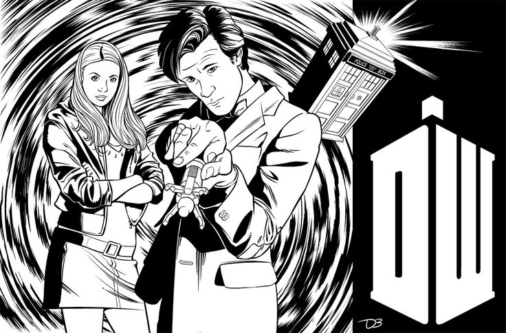 Amy Pond coloring #15, Download drawings