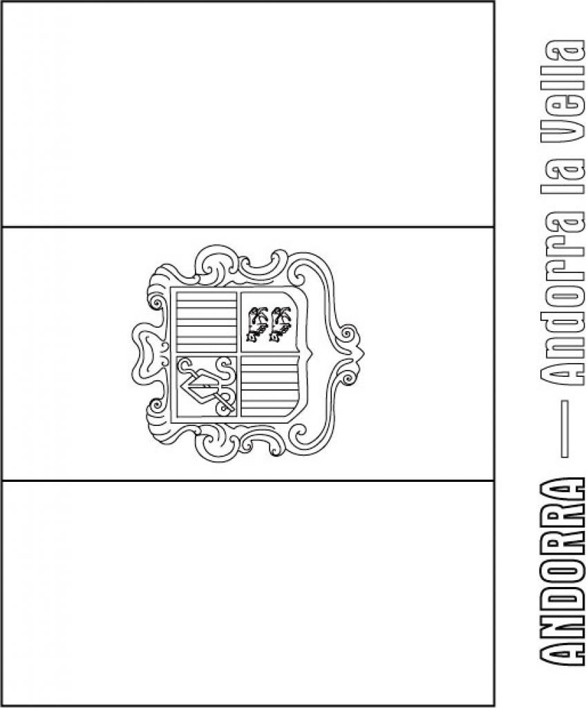 Andorra coloring #7, Download drawings