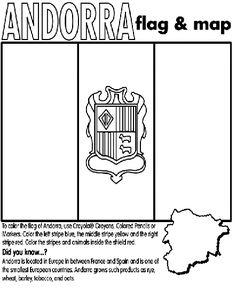 Andorra coloring #10, Download drawings