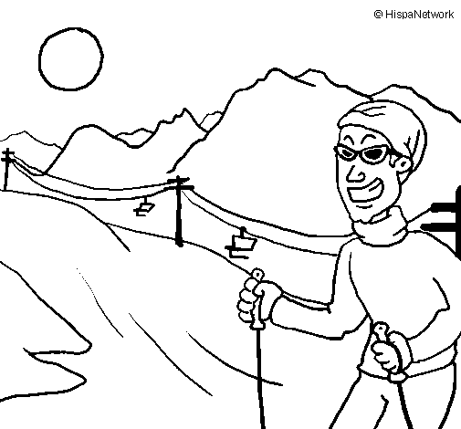 Andorra coloring #3, Download drawings
