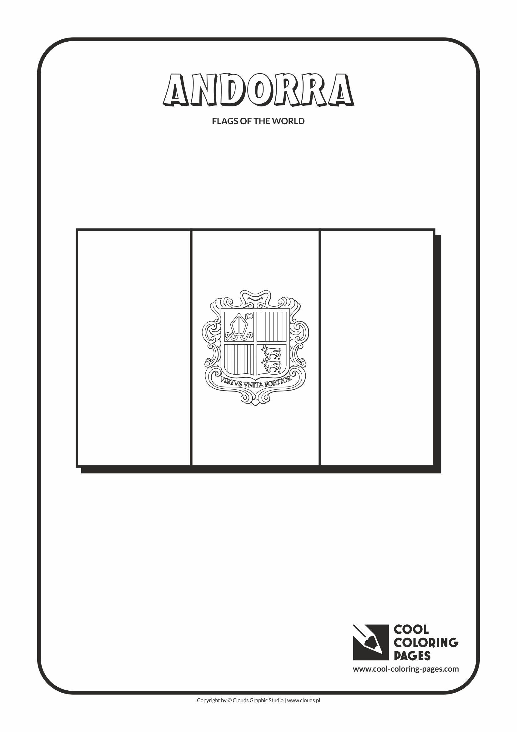 Andorra coloring #2, Download drawings