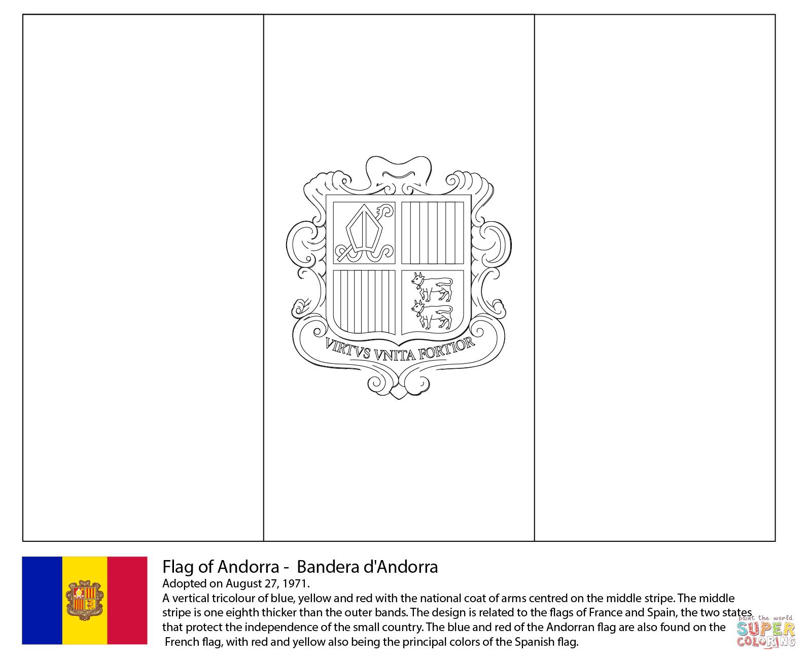 Andorra coloring #11, Download drawings