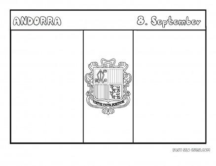 Andorra coloring #17, Download drawings