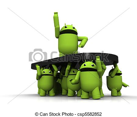Android clipart #1, Download drawings