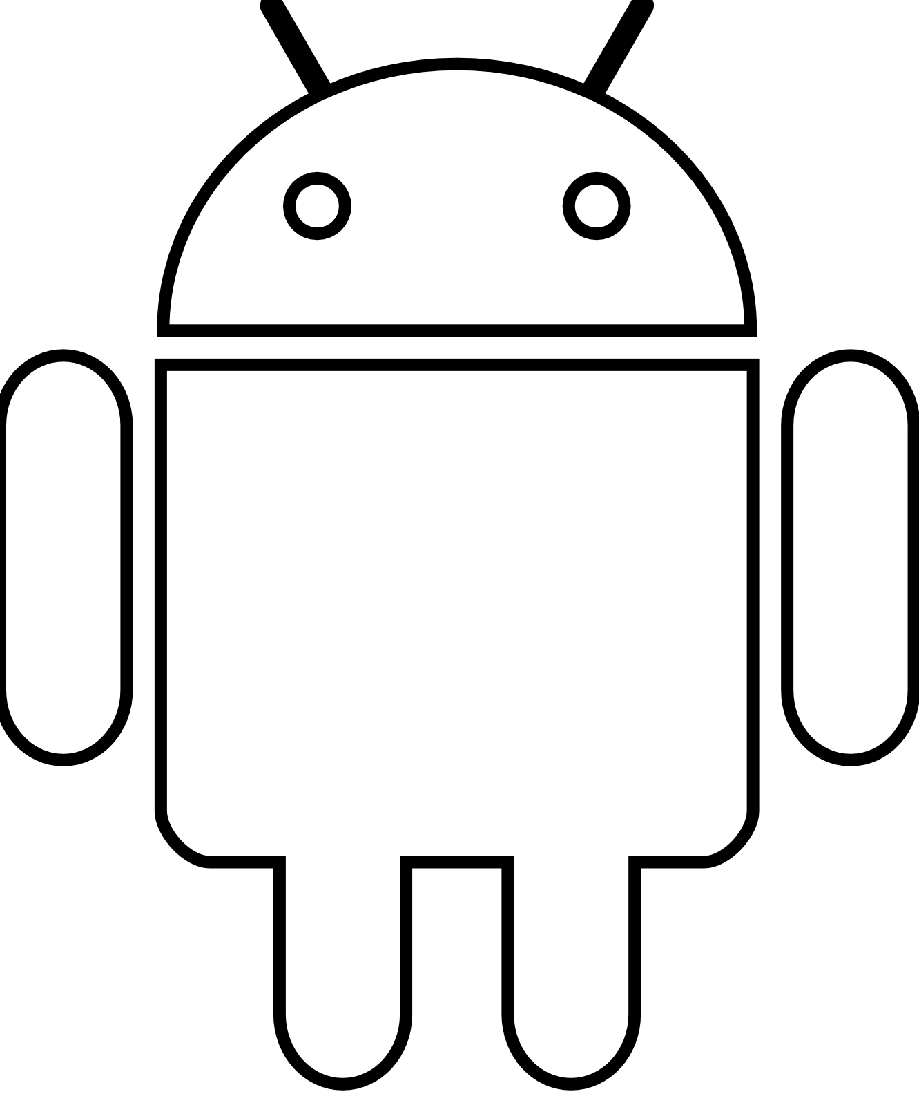 Android clipart #5, Download drawings