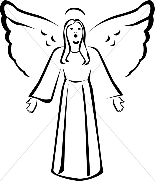 Angel clipart #4, Download drawings