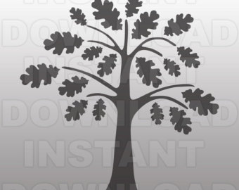 Angel Oak Tree svg #15, Download drawings