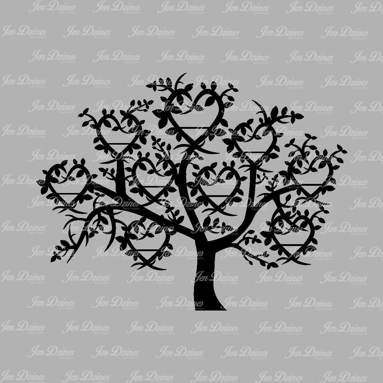 Angel Oak Tree svg #1, Download drawings