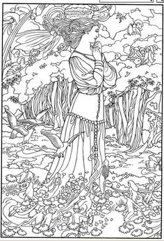 Angel Statue coloring #11, Download drawings