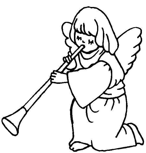 Angel Statue coloring #6, Download drawings