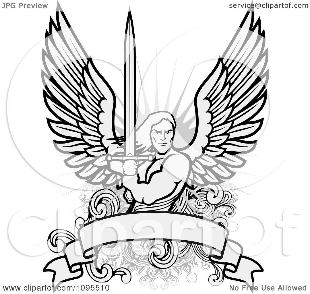Angel Warrior coloring #14, Download drawings