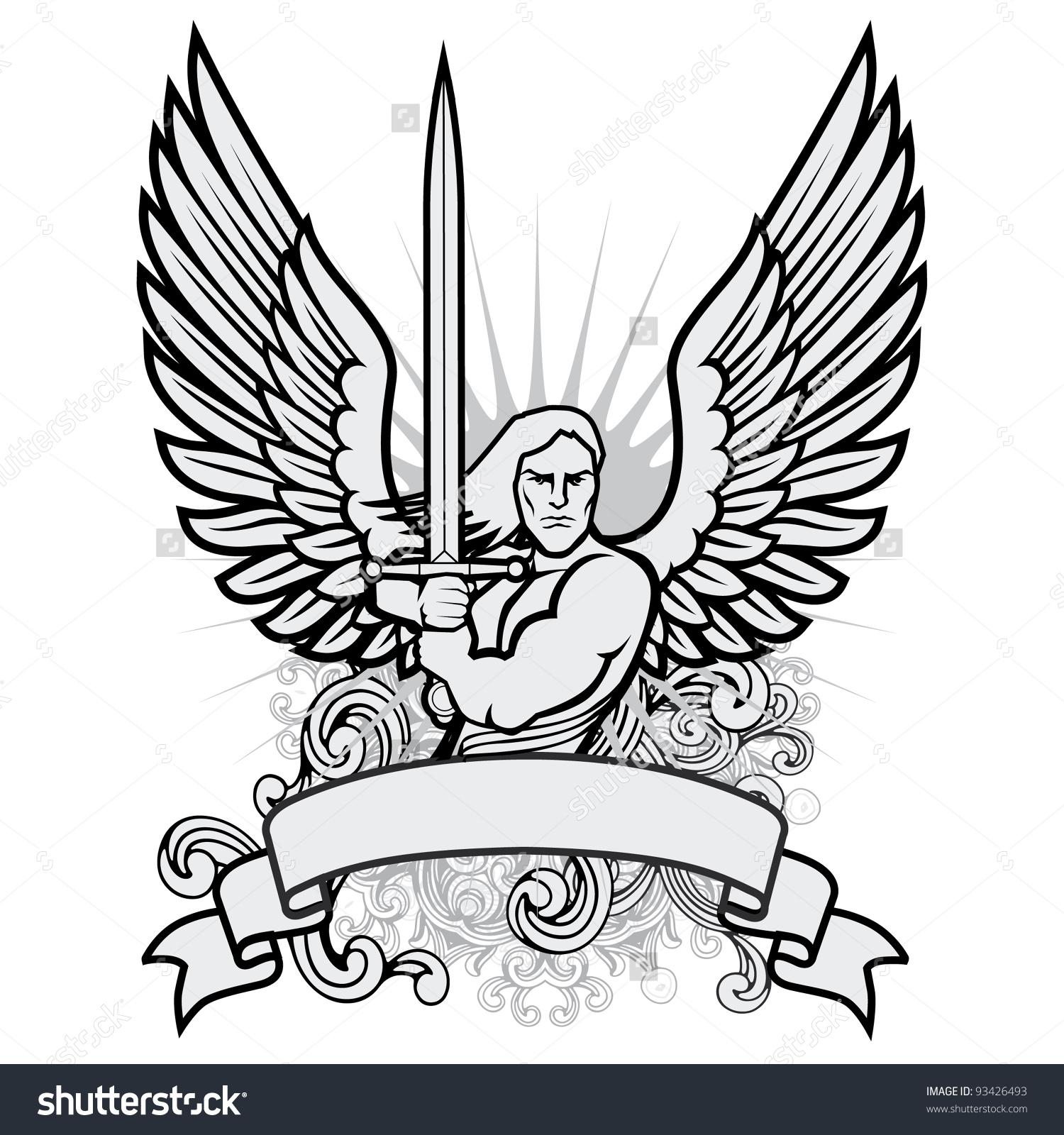 Angel Warrior coloring #1, Download drawings