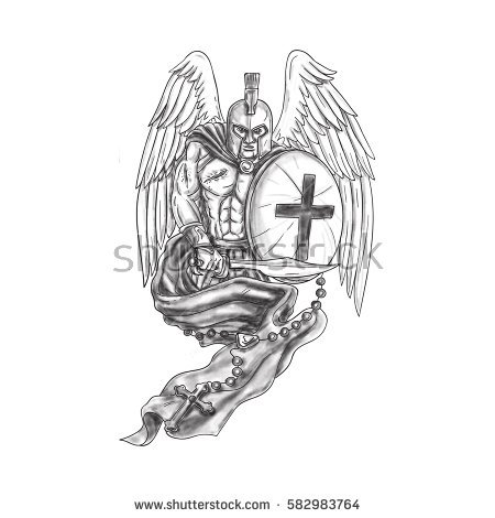 Angel Warrior coloring #10, Download drawings