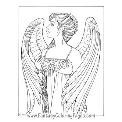 Angel Warrior coloring #15, Download drawings