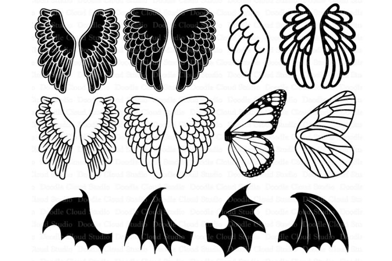 wings svg free #1201, Download drawings