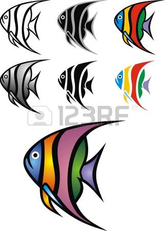 Angelfish clipart #1, Download drawings