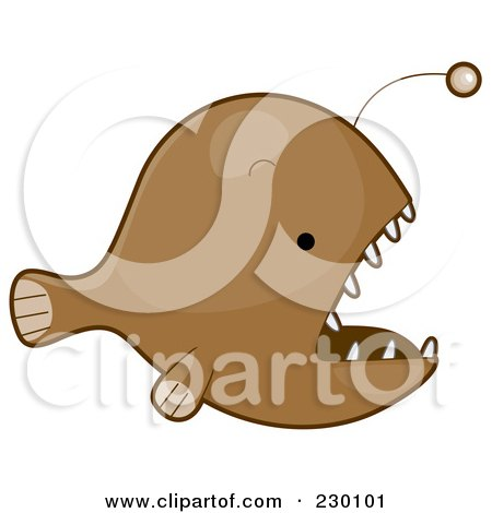 Anglerfish clipart #3, Download drawings