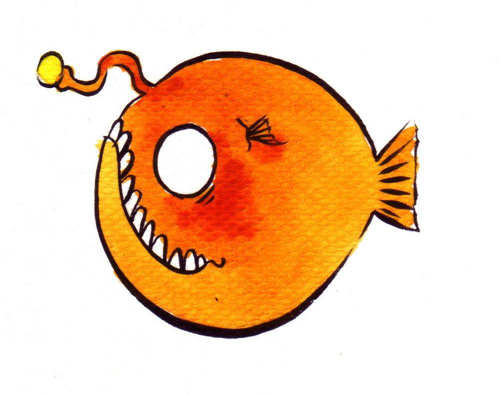 Anglerfish clipart #20, Download drawings