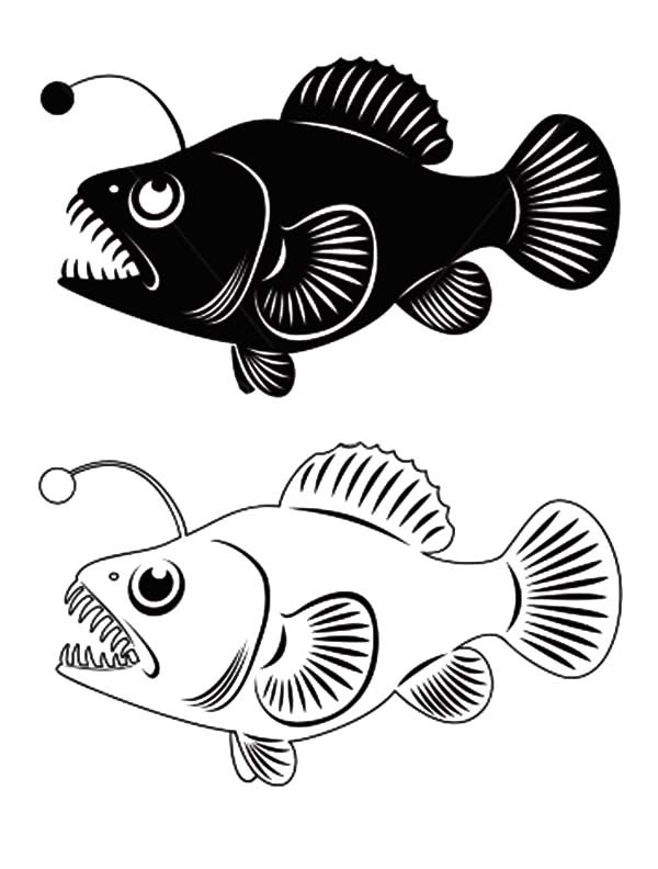 Anglerfish clipart #6, Download drawings