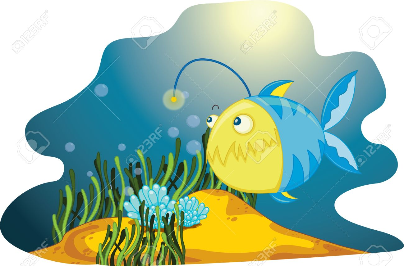 Anglerfish clipart #4, Download drawings