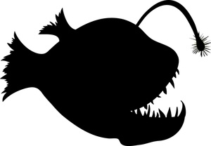 Anglerfish clipart #2, Download drawings