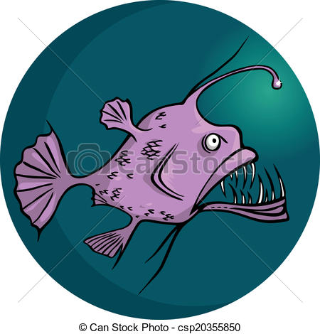 Anglerfish clipart #11, Download drawings