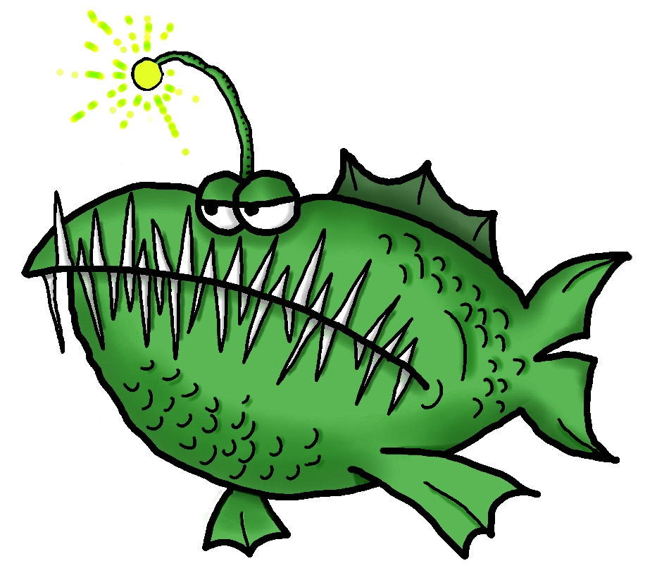 Anglerfish clipart #13, Download drawings
