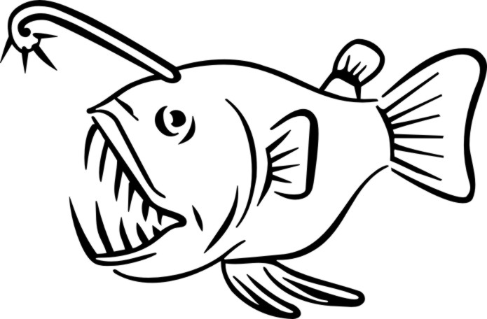 Anglerfish svg #4, Download drawings