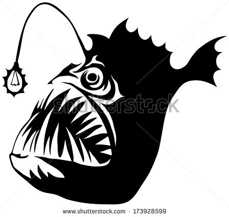 Anglerfish svg #20, Download drawings