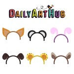Animal Ears clipart #17, Download drawings