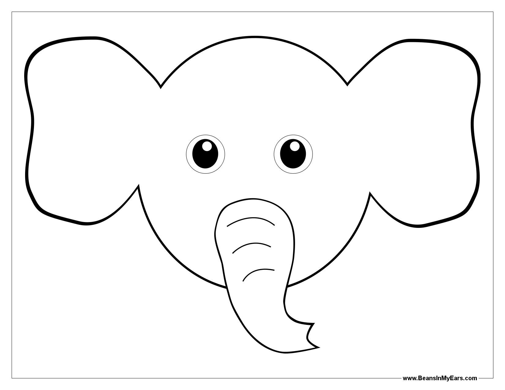 Animal Ears coloring #9, Download drawings