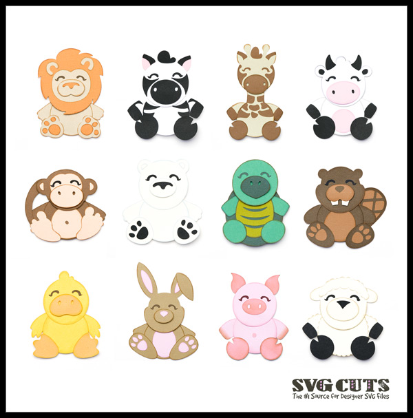 Baby Animal svg #12, Download drawings