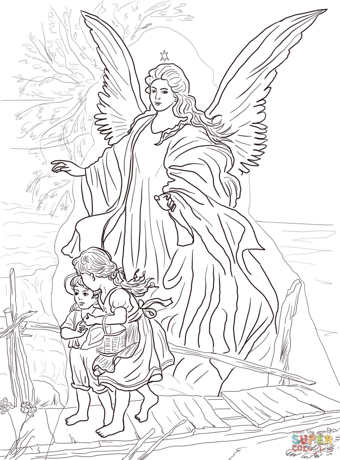 Anjos coloring #11, Download drawings