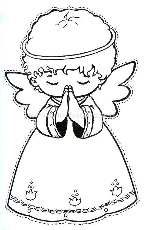Anjos coloring #2, Download drawings