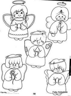Anjos coloring #3, Download drawings