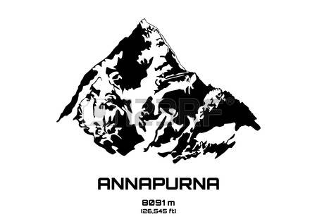 Annapurna clipart #3, Download drawings