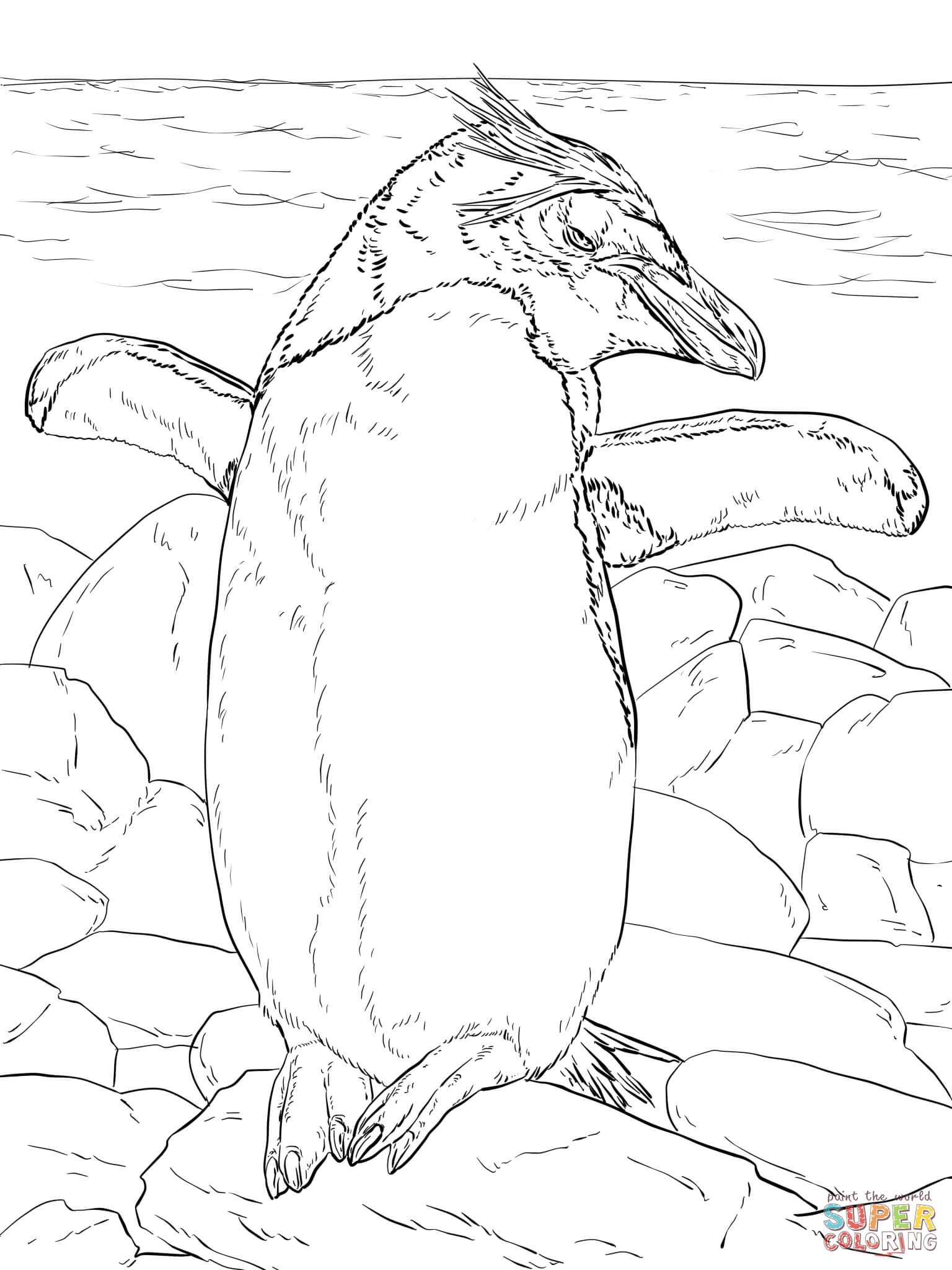 antartica coloring pages - photo#25