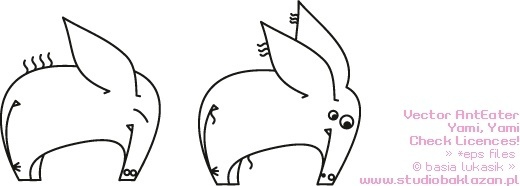 Anteater svg #11, Download drawings